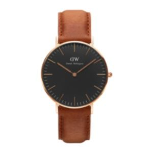 dw watches rose gold classic black 36mm